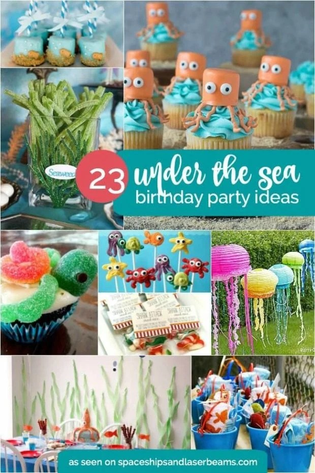 Best 23 Enchanting Under The Sea Party Ideas Spaceships And This Month