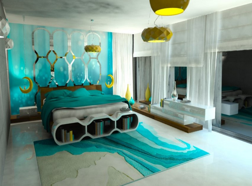Best Turquoise Room Decorations Colors Of Nature Aqua Exoticness This Month