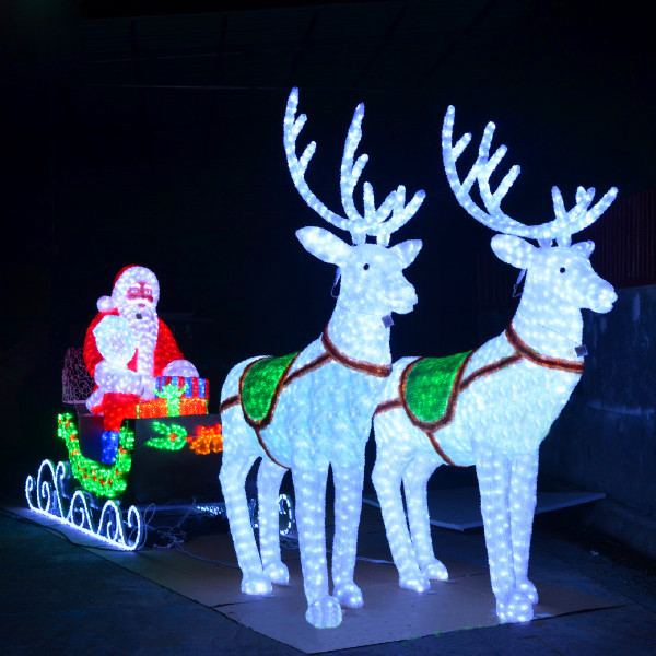 Best Outdoor Animated Lighted Christmas Decorations Led This Month