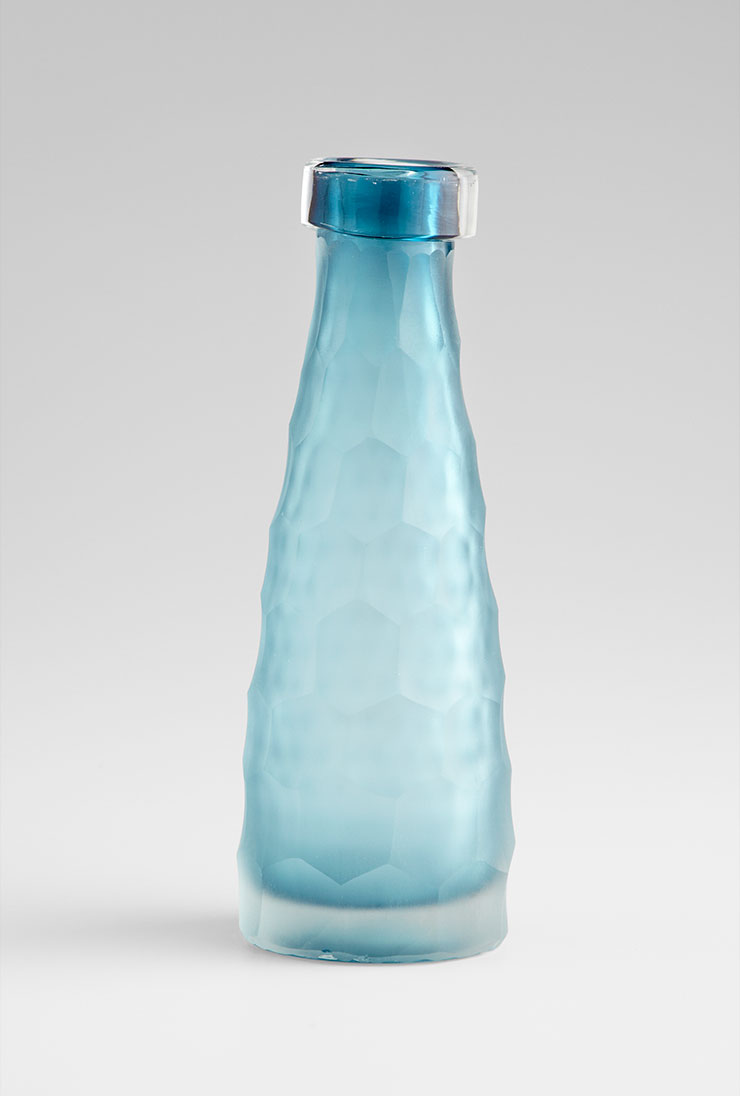 Best Small Hummingbird Blue Glass Vase By Cyan Design This Month
