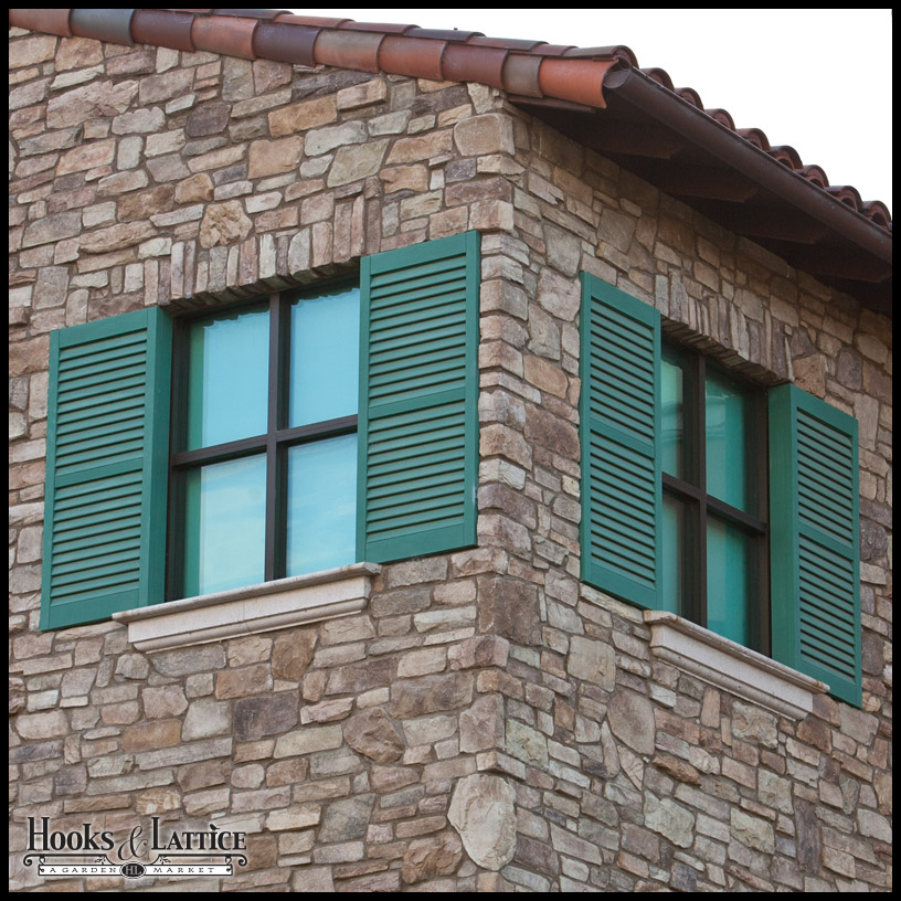 Best Decorative Exterior Shutters Aluminum Iron Vinyl This Month