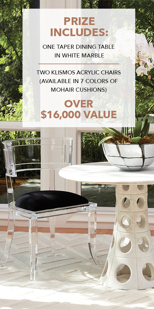 Best Elle Decor Global Views Sweepstakes This Month