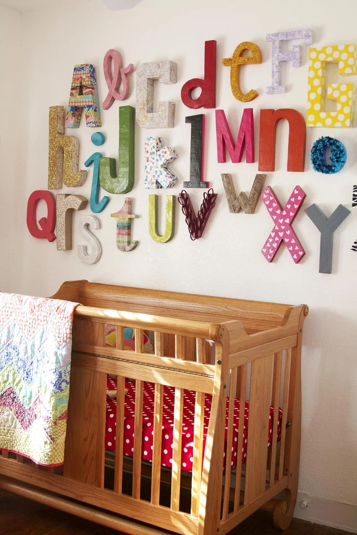 Best Wall Alphabet Kid Friendly Crafts Popsugar Family This Month