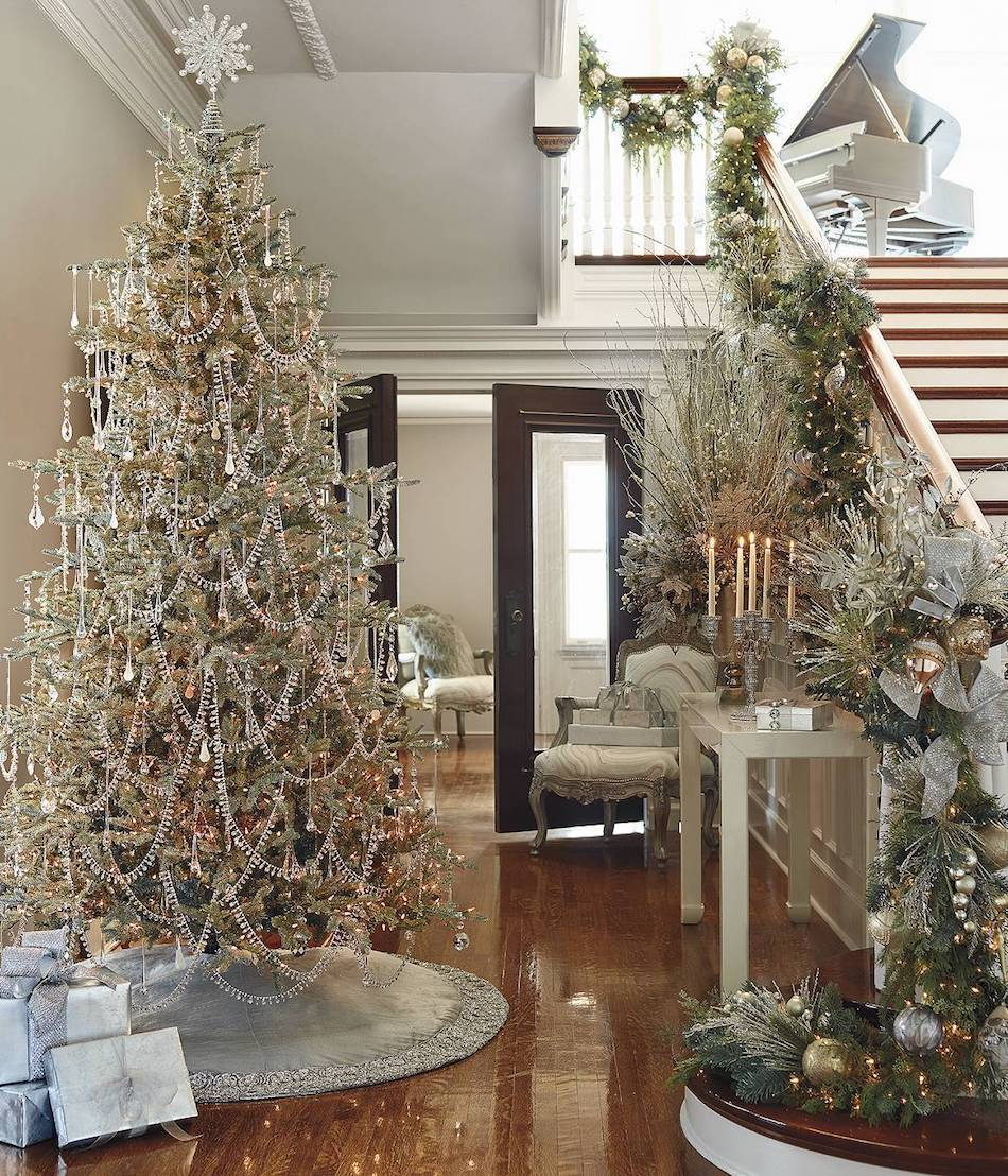 Best Lookandlovewithlolo Holidays Decorating With Mixed Metallics This Month