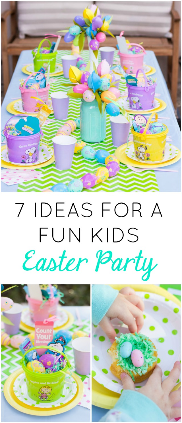 Best 7 Fun Ideas For A Kids Easter Party Design Improvised This Month