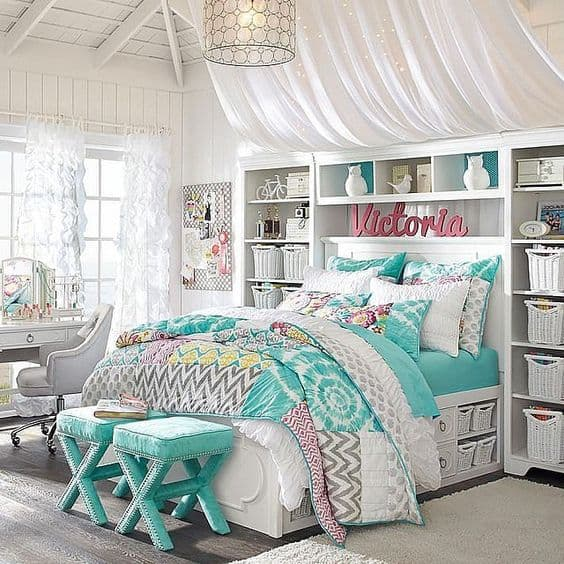 Best 18 Teenage Bedroom Ideas Suitable For Every Girl This Month