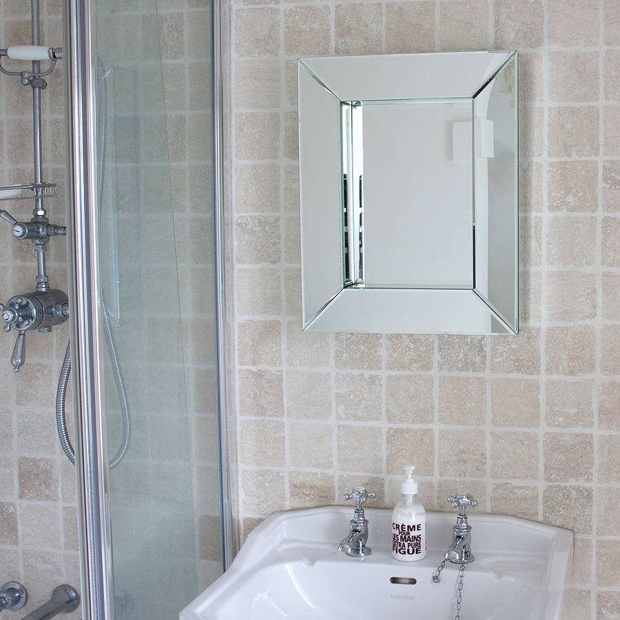 Best Deep All Glass Bathroom Mirror By Decorative Mirrors This Month