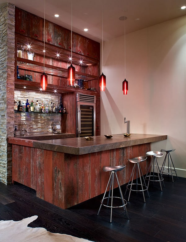 Best 58 Exquisite Home Bar Designs Built For Entertaining This Month