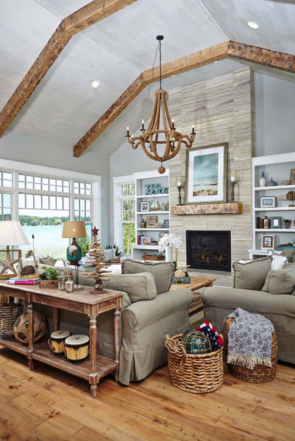 Best Stunning Beach Style Cottage Designed For Family Living In This Month