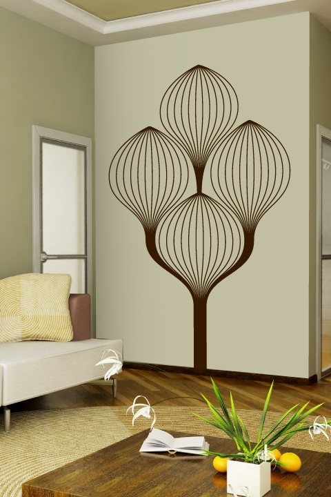 Best Art Deco Tree Wall Decals Walltat This Month
