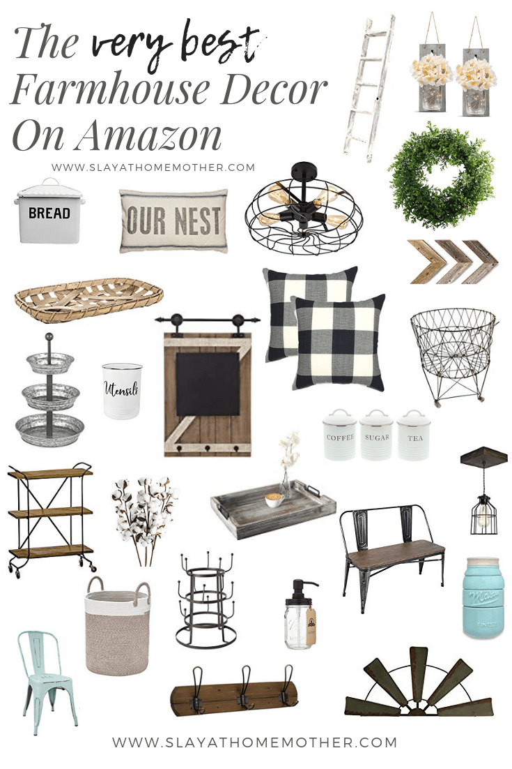 Best The Best Farmhouse Finds On Amazon Slay At Home Mother This Month