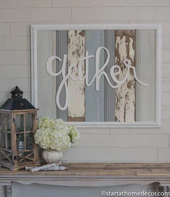 Best Large Reclaimed Wood Signs Words Start At Home Decor This Month