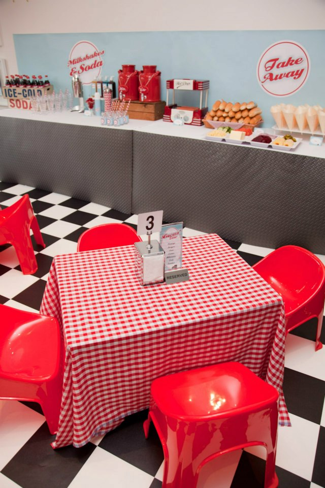 Best Retro 50'S Diner The Party Connection Your Liaison To This Month