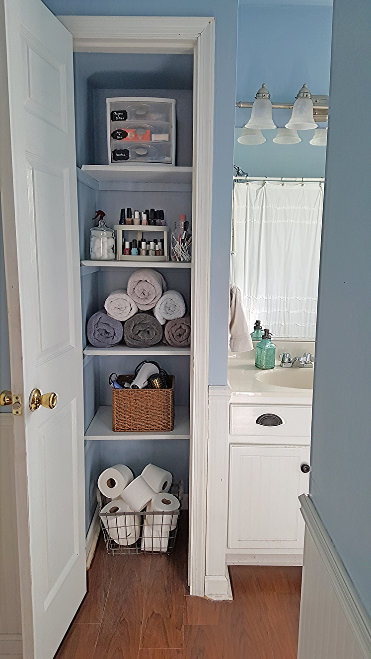 Best Organized Linen Closet The Honeycomb Home This Month