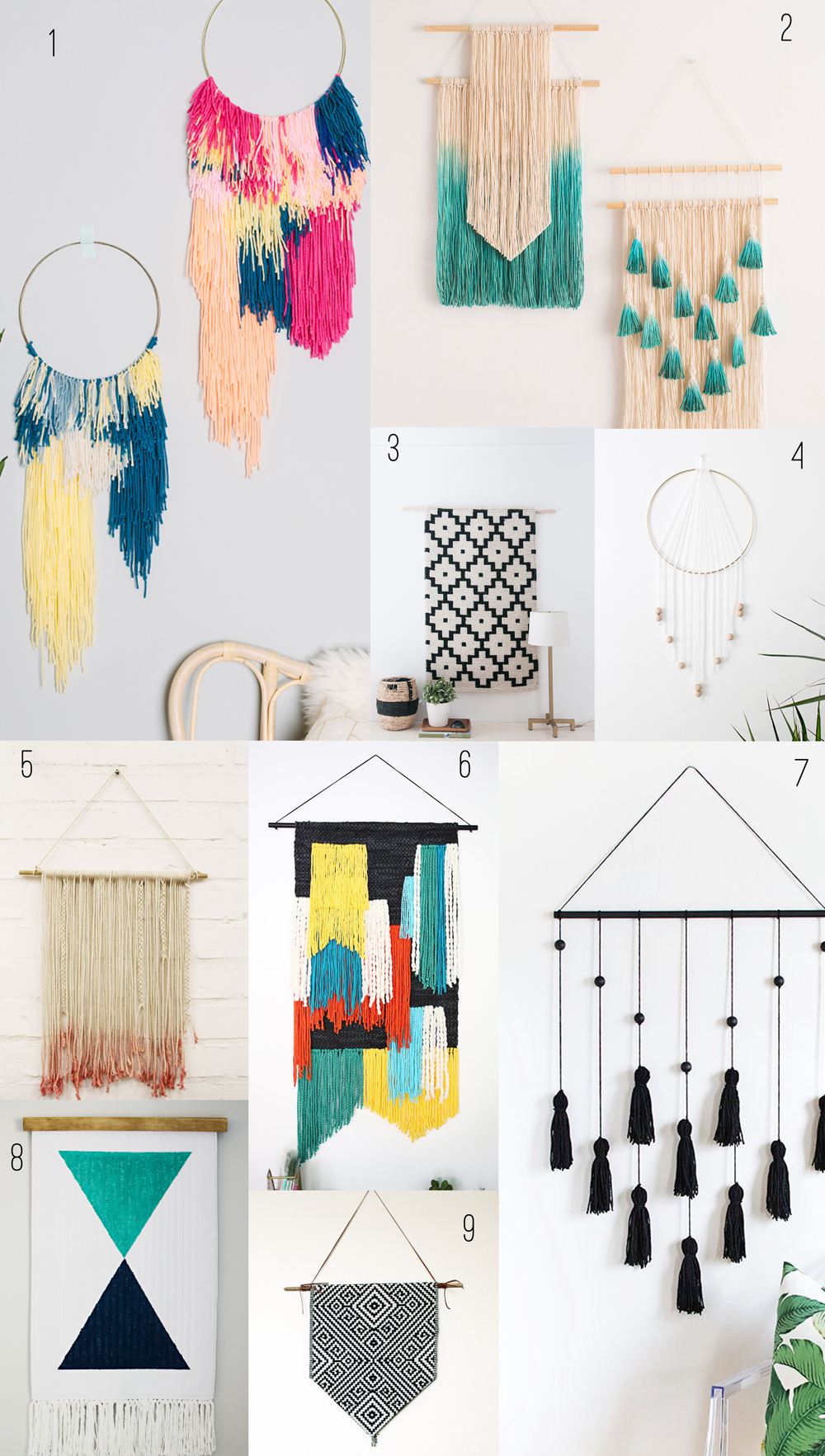 Best 9 Amazing Diy Wall Hangings Tell Love And Party This Month