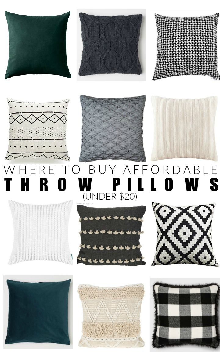 Best Where To Buy Cheap Throw Pillows Under 20 Little House This Month