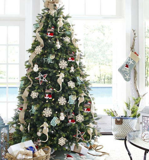 Best Sea And Beach Inspired Coastal Christmas Decor Collections This Month