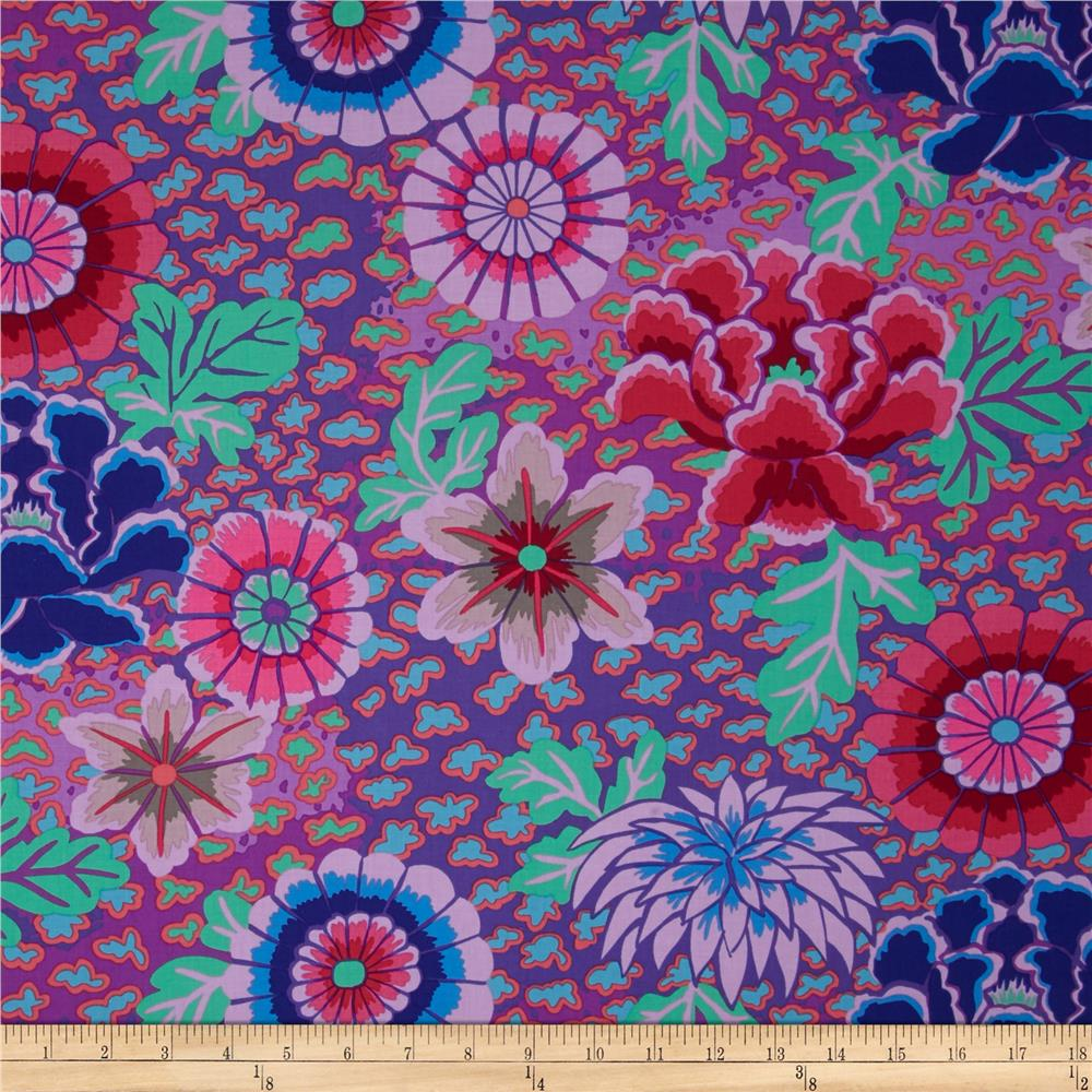 Best Kaffe Fassett Dream Purple Discount Designer Fabric This Month