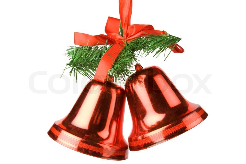Best Christmas Bells Decoration Isolated On White Background This Month