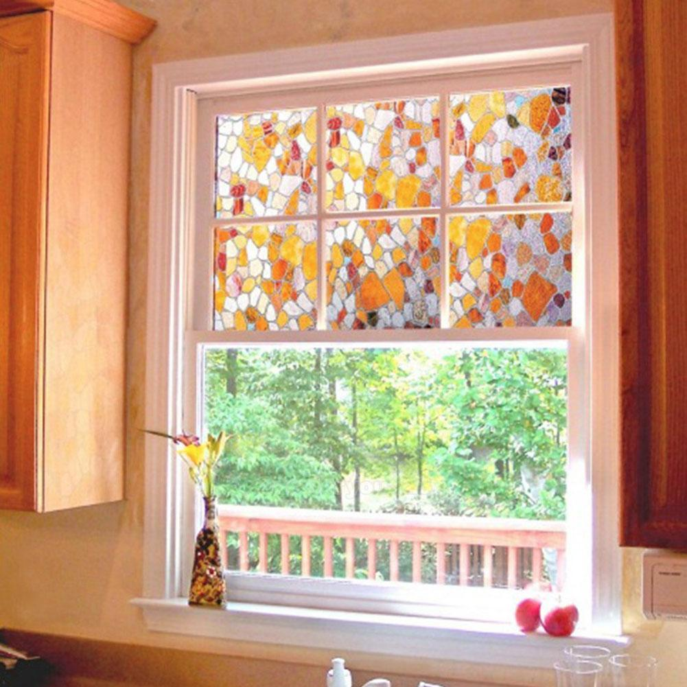 Best 3D Static Cling Stained Glass Privacy Paper Frosted This Month
