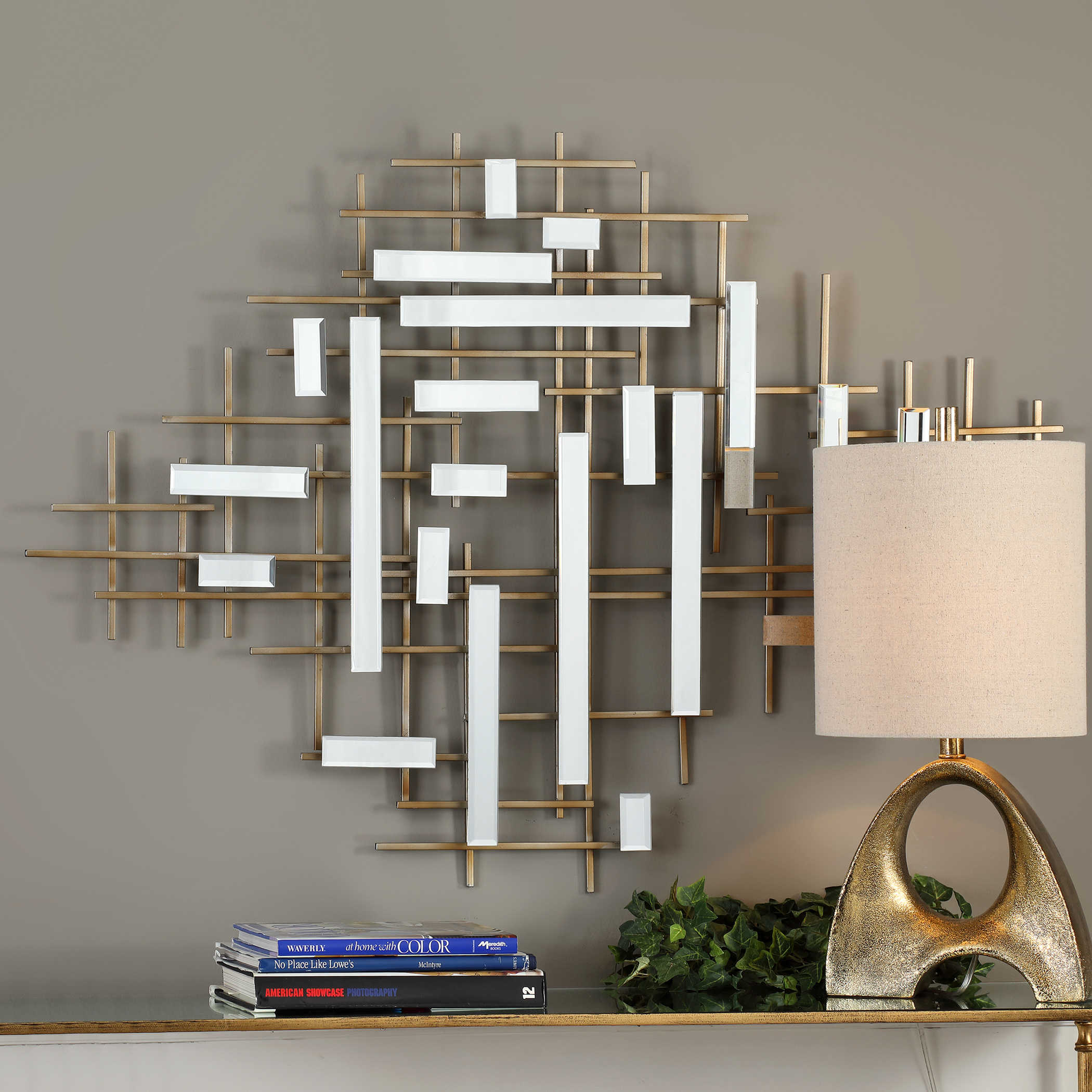 Best Uttermost Apollo Gold Mirrored Wall Art This Month