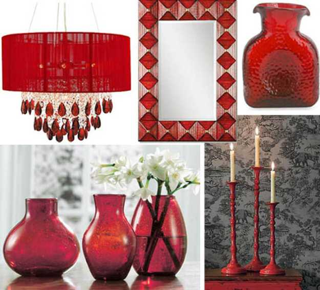 Best 15 Interior Decorating Ideas Adding Bright Red Color To This Month