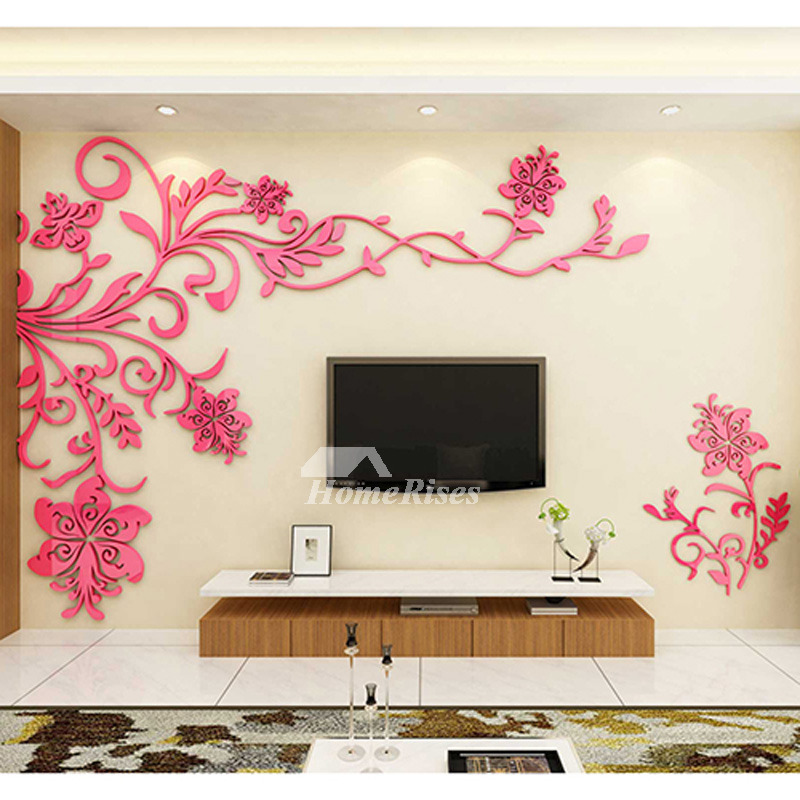 Best Living Room Wall Decor 3D Acrylic Modern Bedroom Large Unique This Month