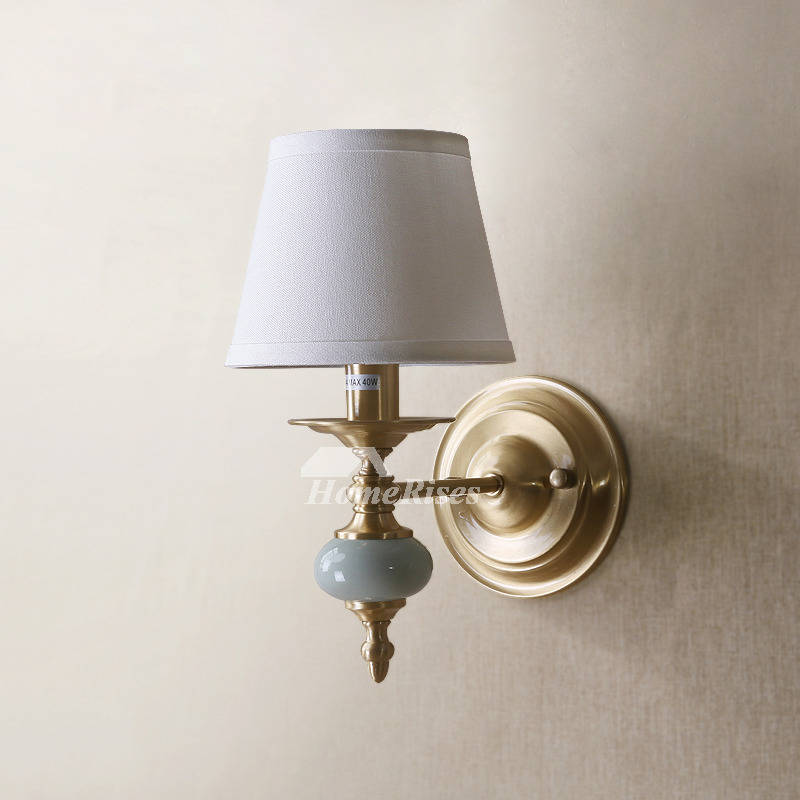 Best Decorative Wall Sconces Fabric Brass Rustic Lighting This Month