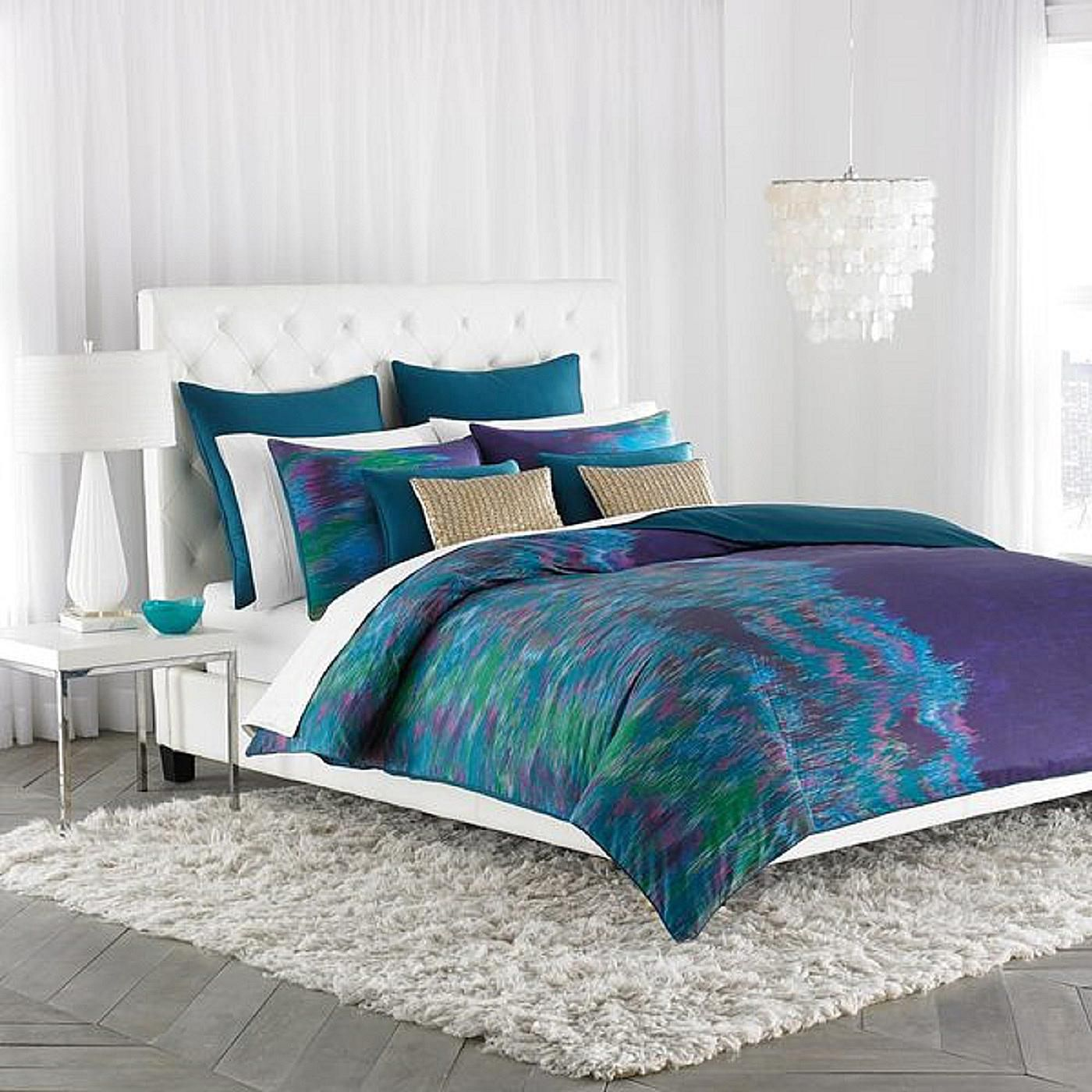 Best Decorating Your Bedroom With Green Blue And Purple This Month