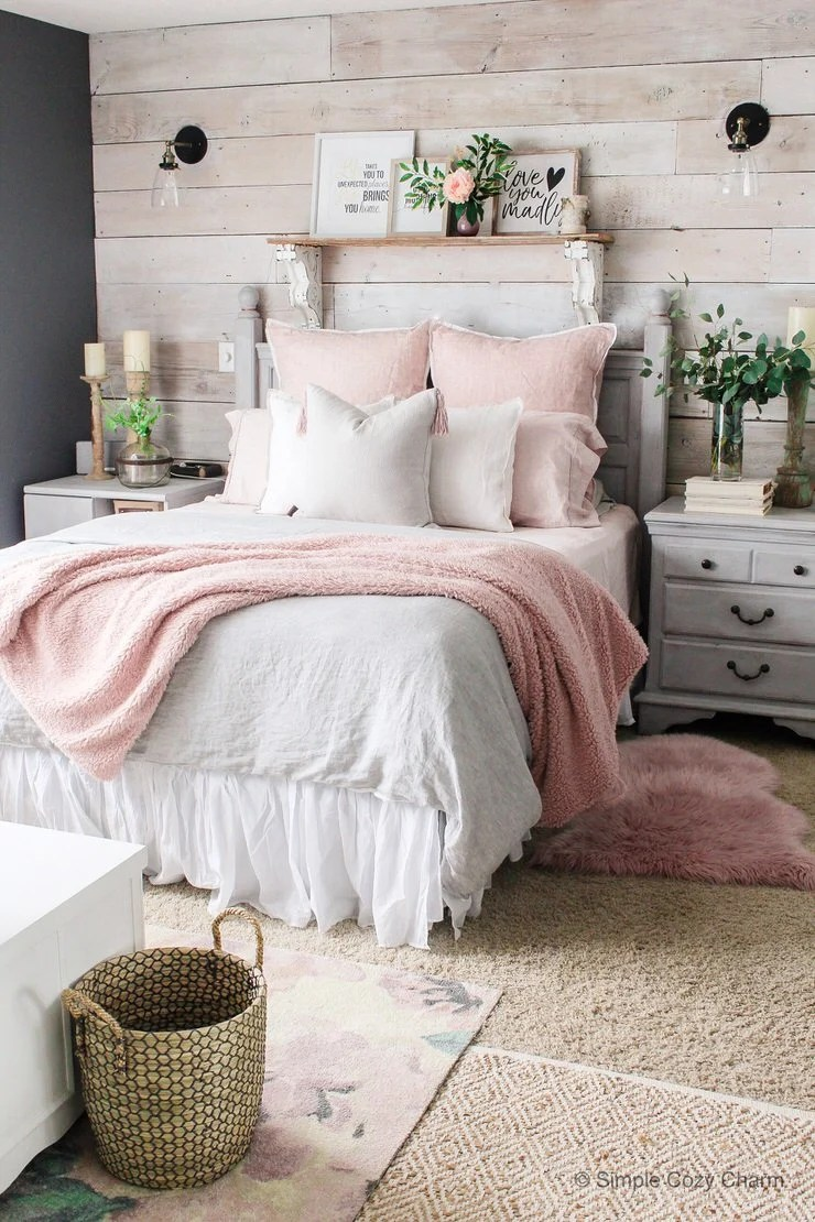 Best Charming But Cheap Bedroom Decorating Ideas • The Budget This Month