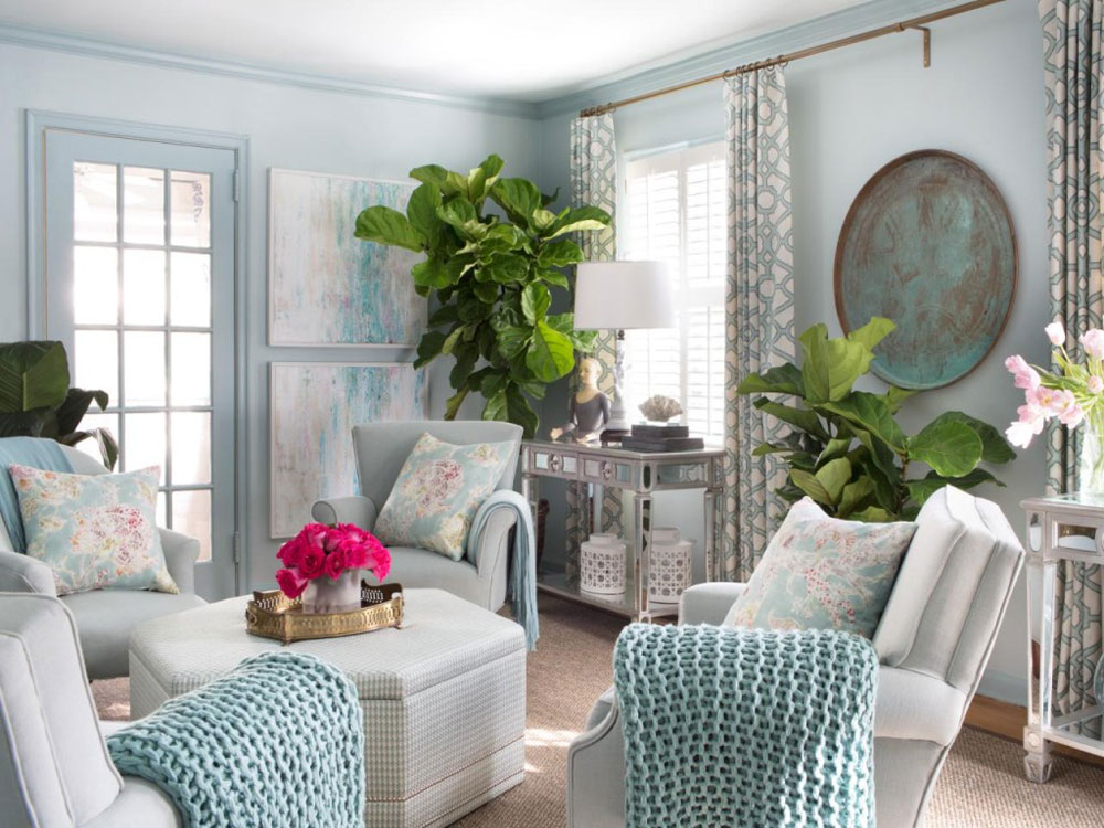 Best Ideas For Decorating The Living Room With Plants This Month