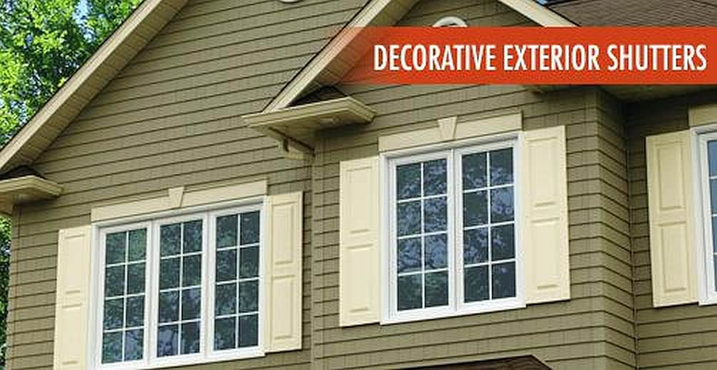 Best Decorative Shutters To Spruce Up House Freedom Builders This Month