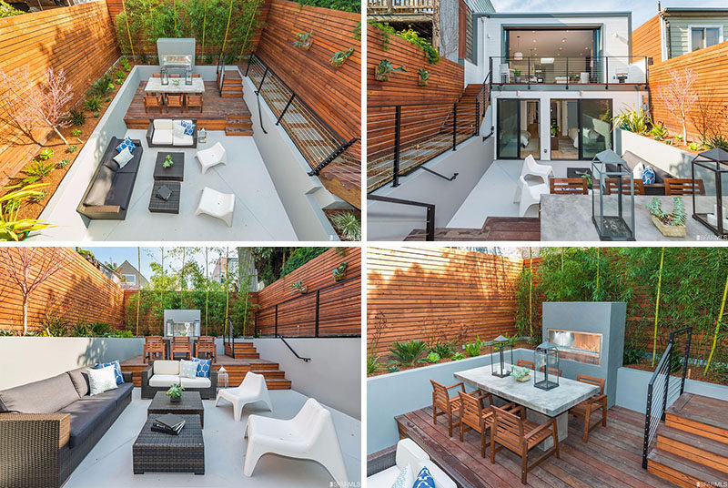 Best Backyard Design Idea Use Multiple Levels To Define This Month
