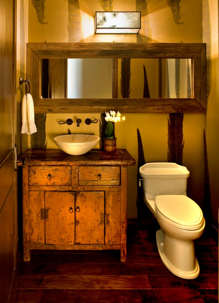 Best 31 Best Rustic Bathroom Design And Decor Ideas For 2019 This Month