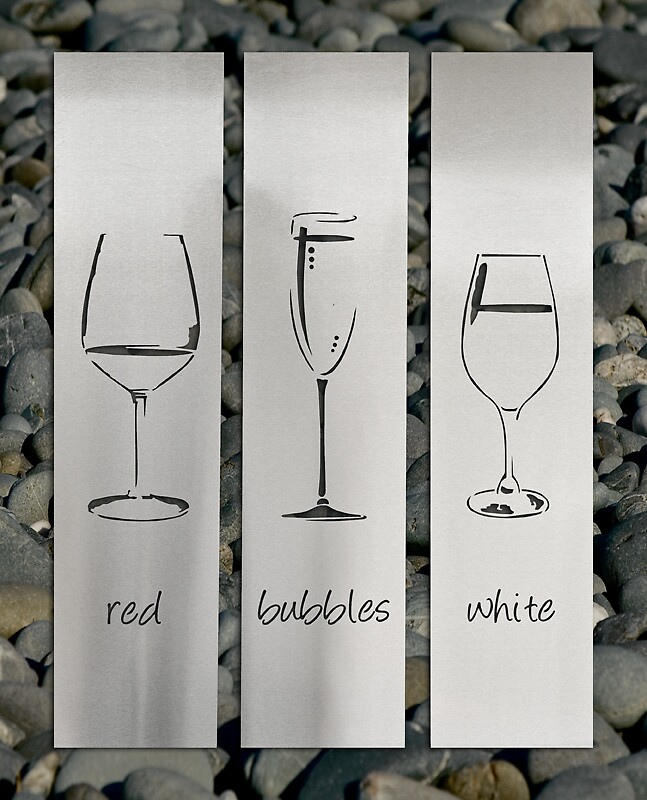 Best Wine Glasses Stainless Steel Wall Art By Lisasarah By This Month