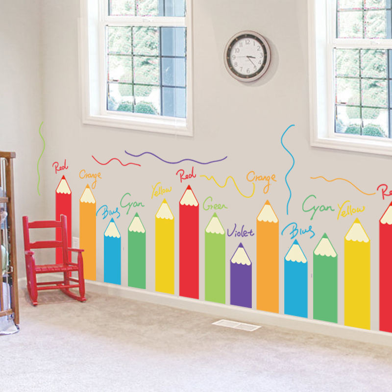 Best Cartoon Colorful Painting Brush Children S Room This Month
