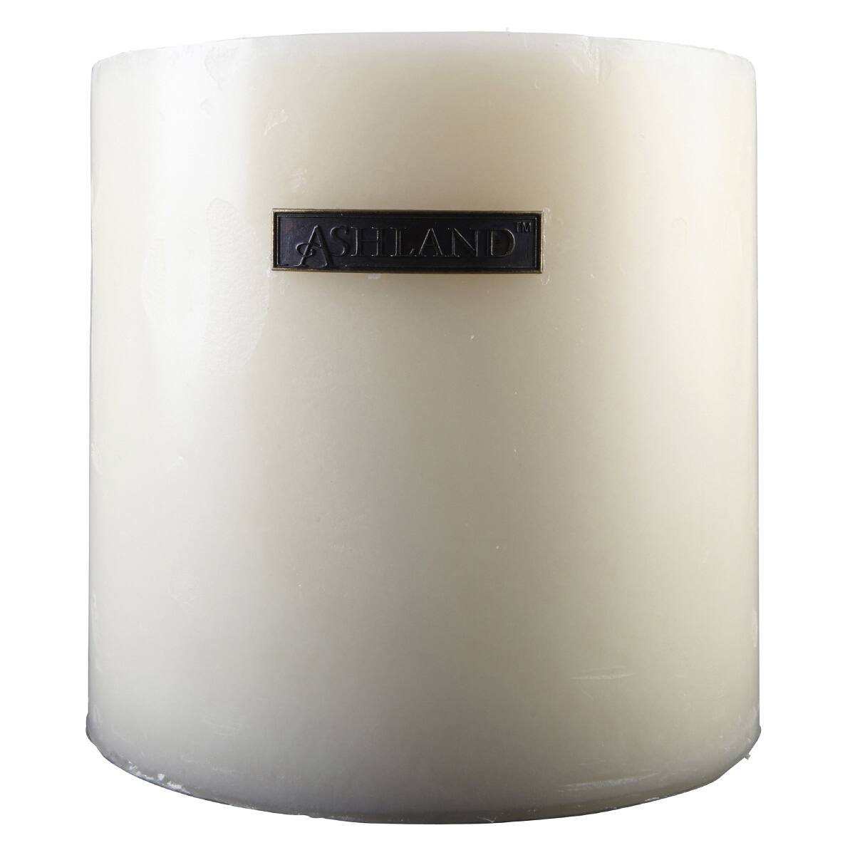 Best Ashland® Mottled Pillar Candle Spiced Vanilla This Month