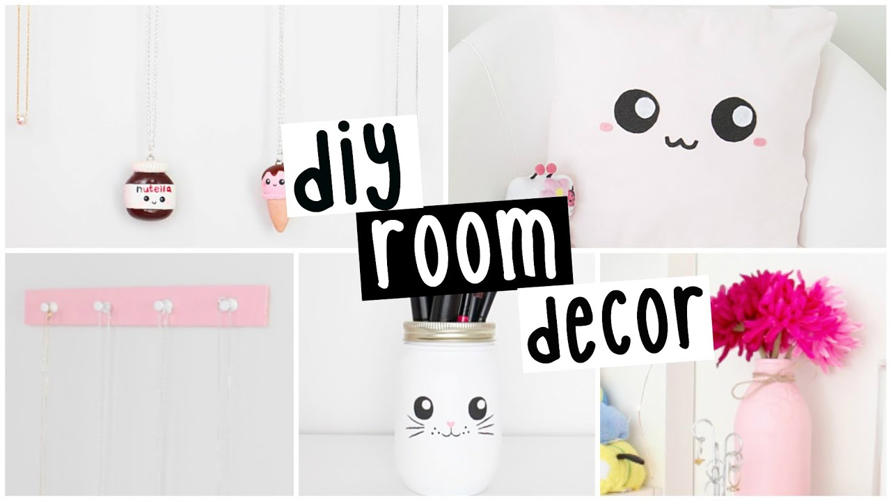 Best Diy Room Decor Four Easy Inexpensive Ideas Youtube This Month