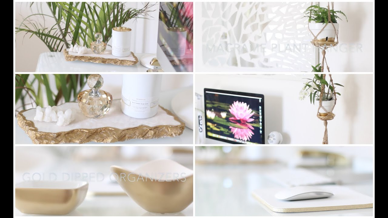 Best Diy Desk Home Office Decor Ideas Youtube This Month