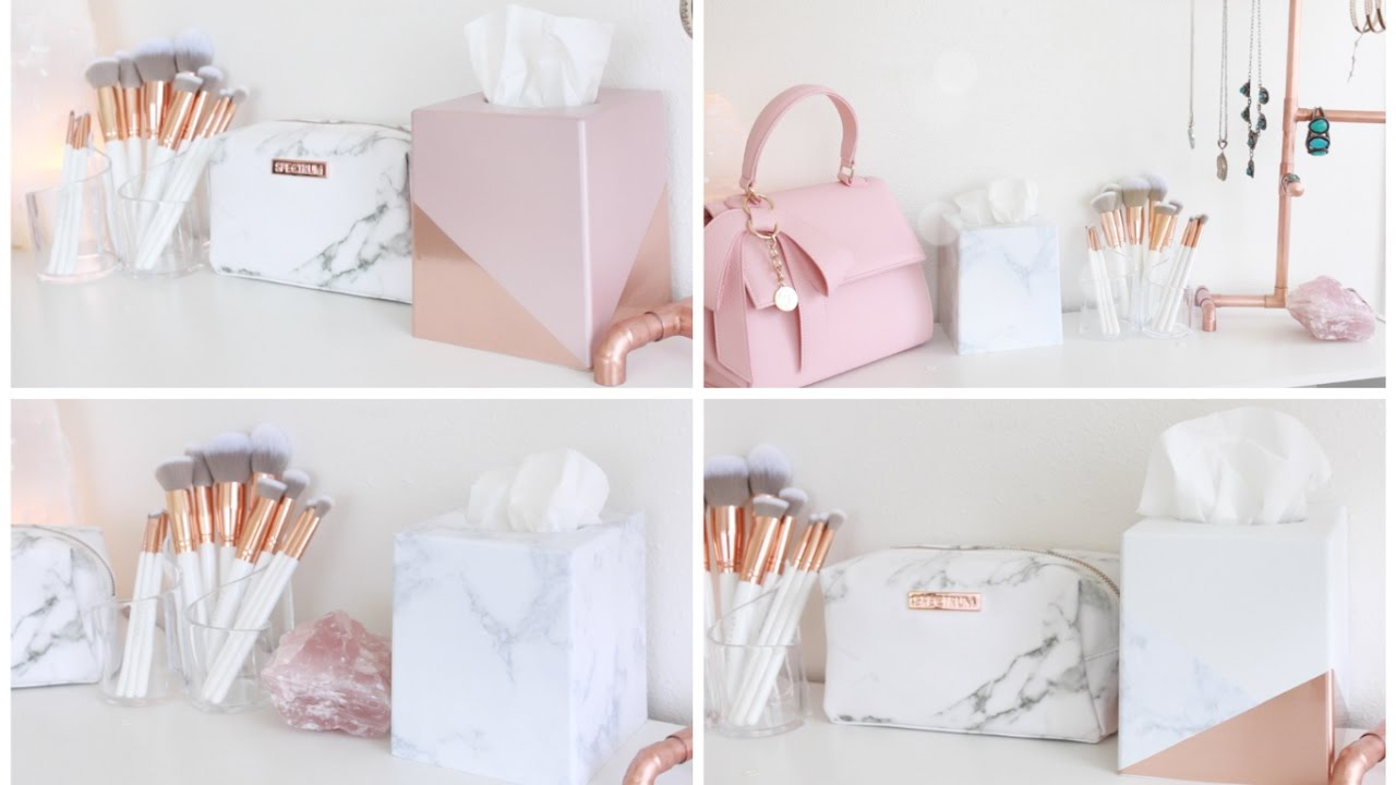 Best Diy Room Decor Decorative Tissue Boxes Youtube This Month
