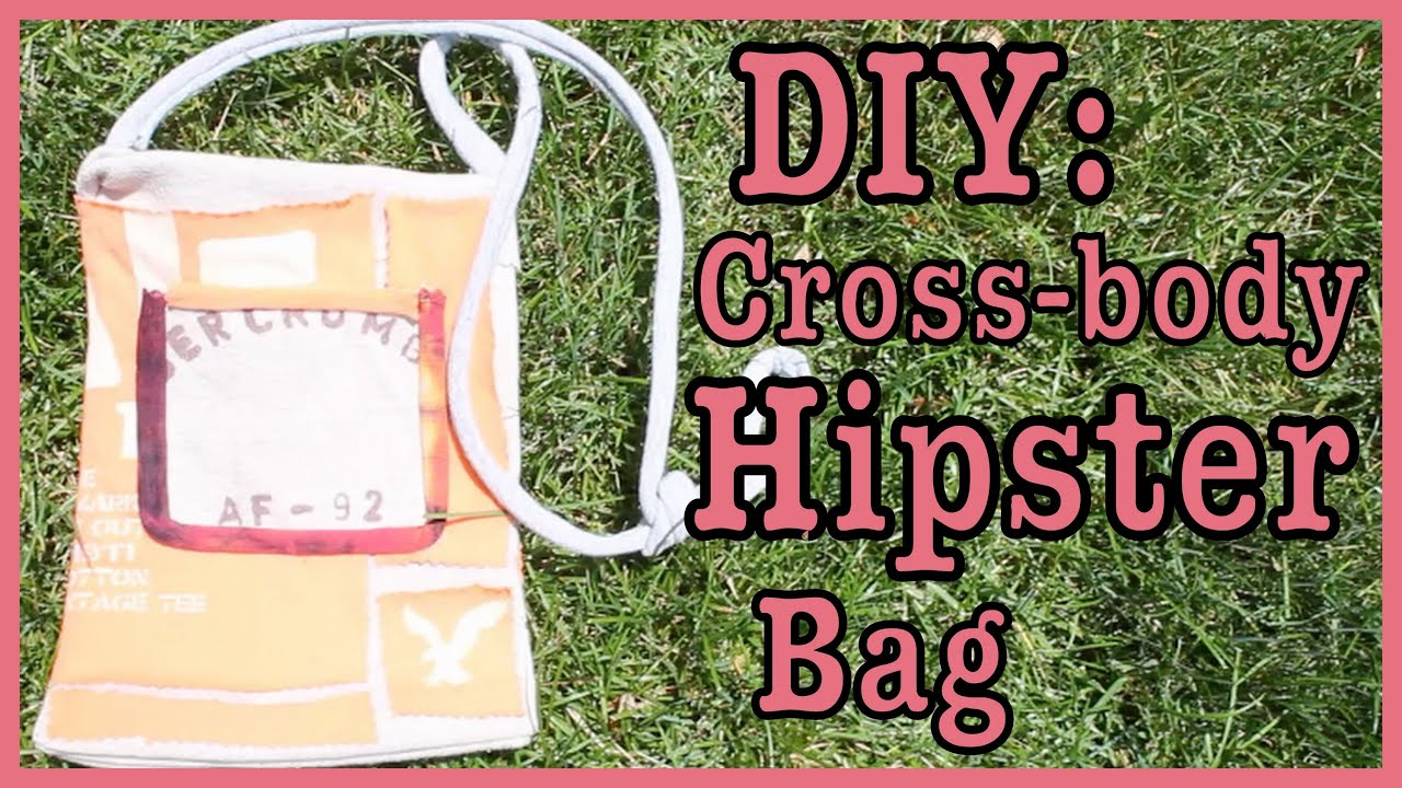 Best Diy Easy Cross Body Hipster Bag Youtube This Month