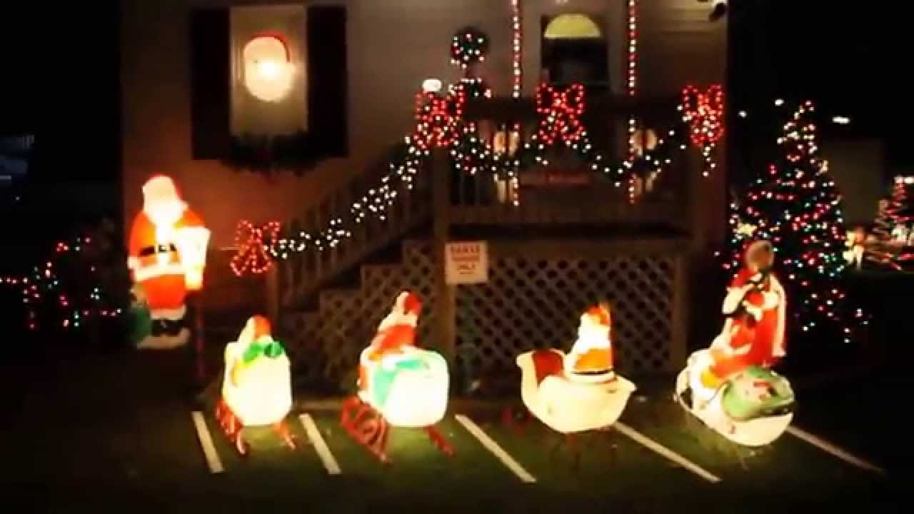 Best Christmas 2012 Blowmold Display Youtube This Month