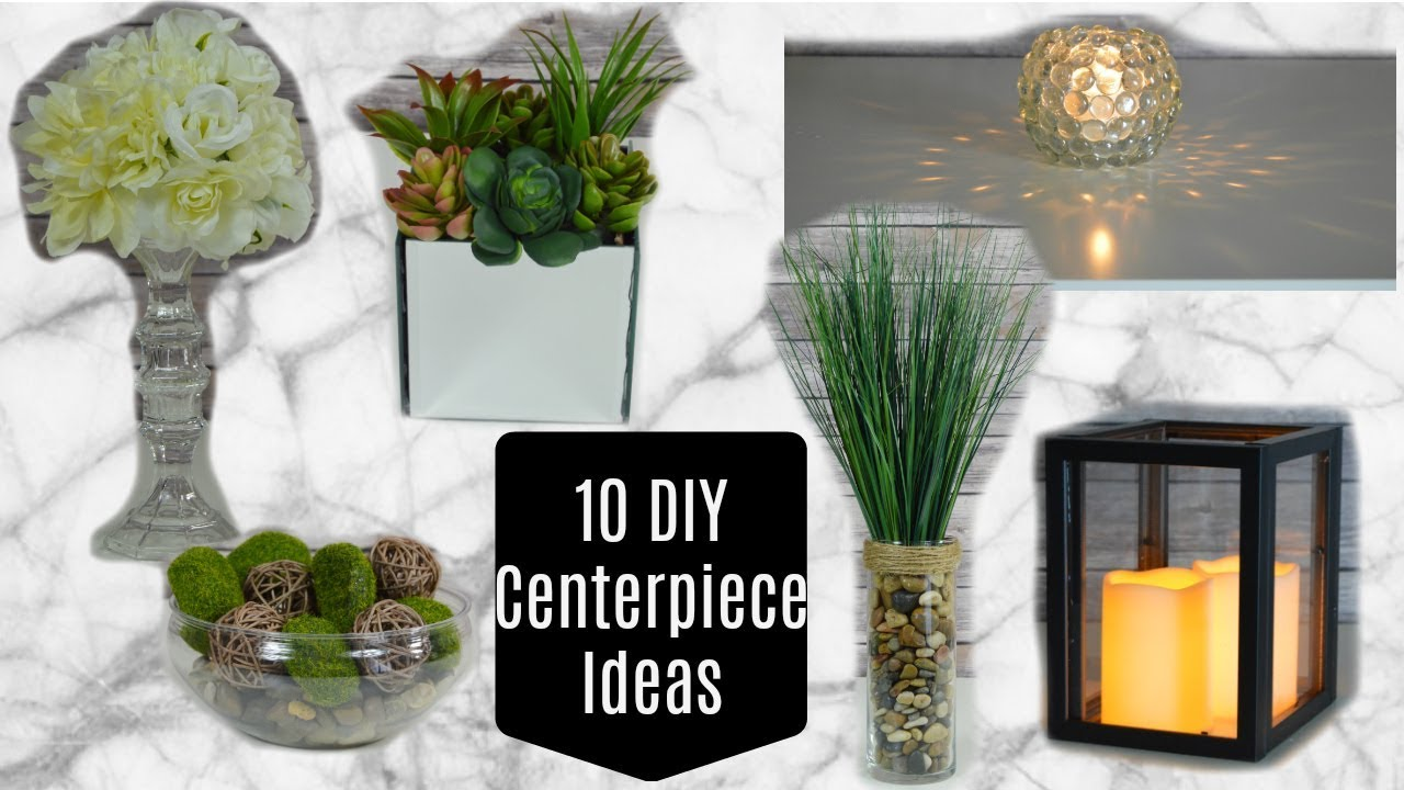 Best 10 Dollar Tree Diy Centerpieces Or Home Decor Youtube This Month