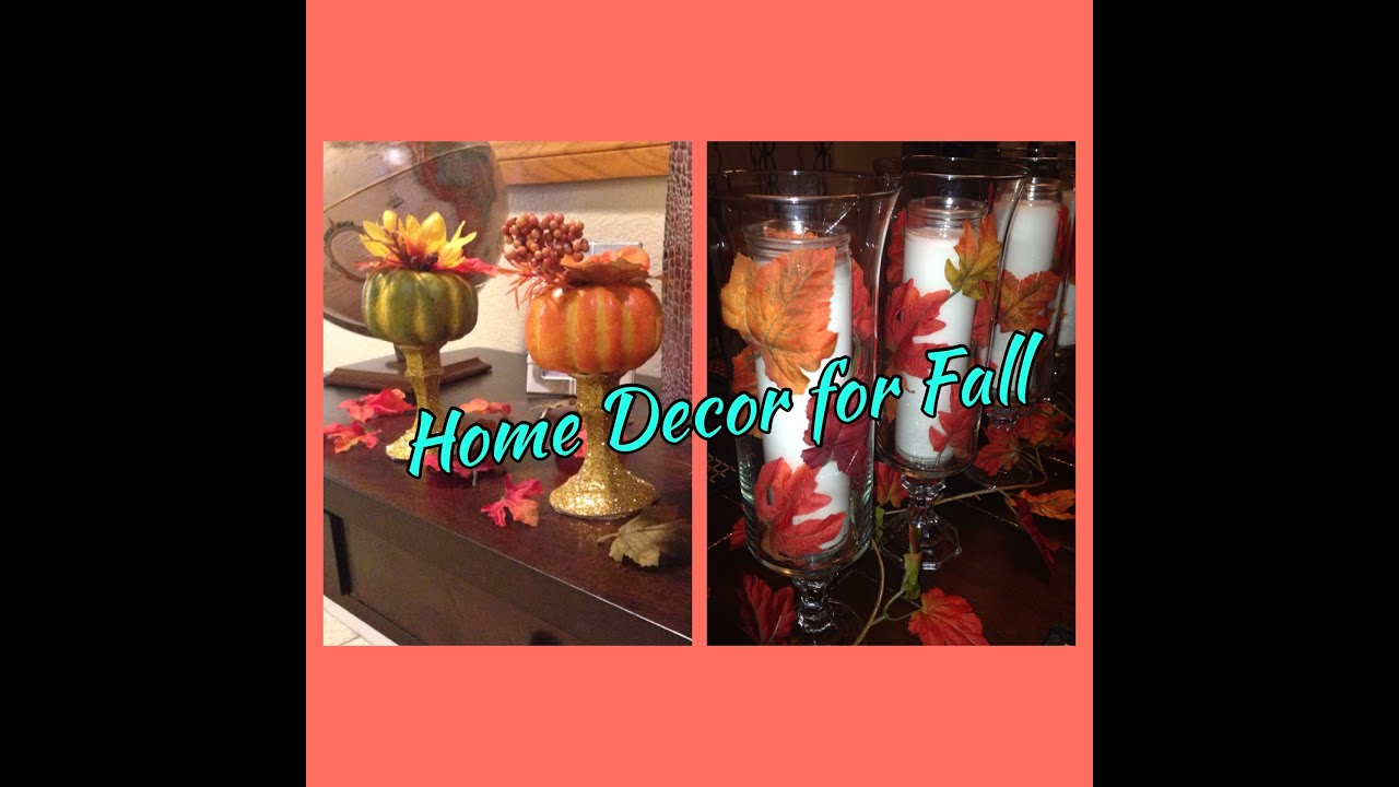 Best Diy Dollar Tree Fall Table Decor Youtube This Month