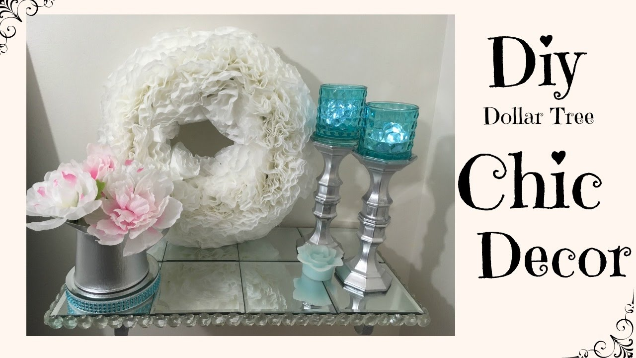 Best Diy Dollar Tree Chic Home Decor Youtube This Month