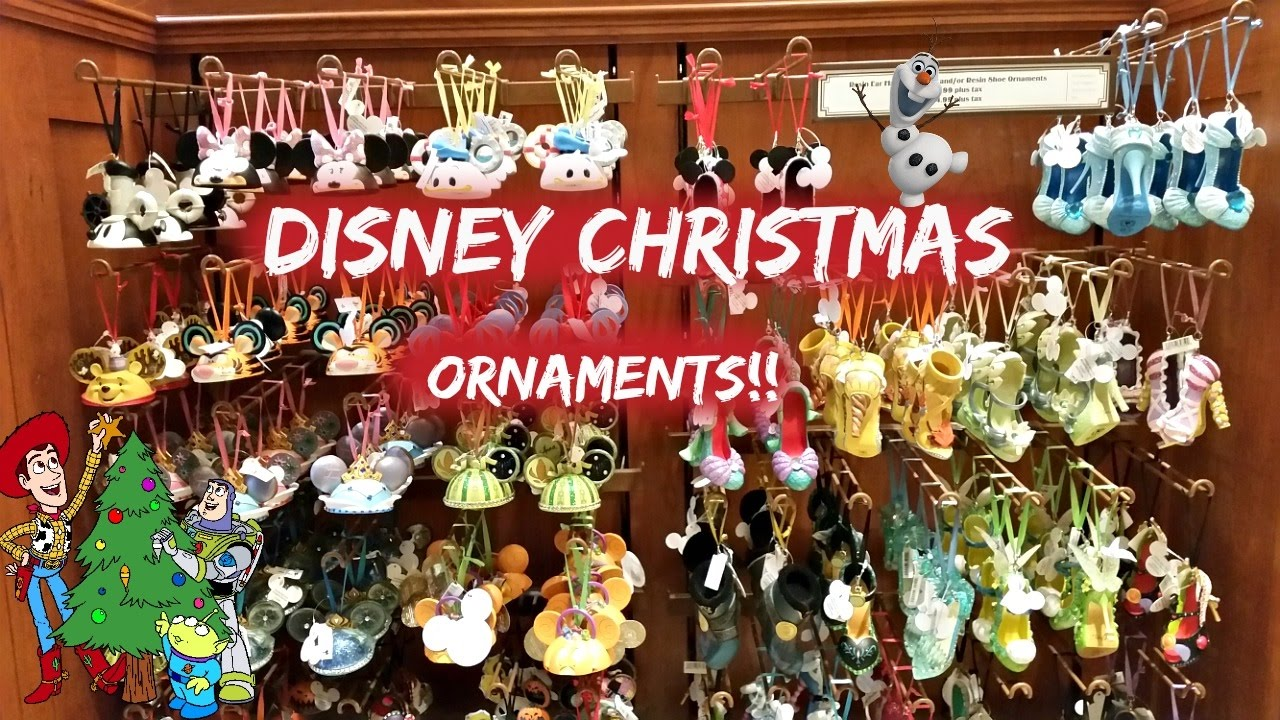 Best Disneyland Christmas Ornaments 2016 Youtube This Month