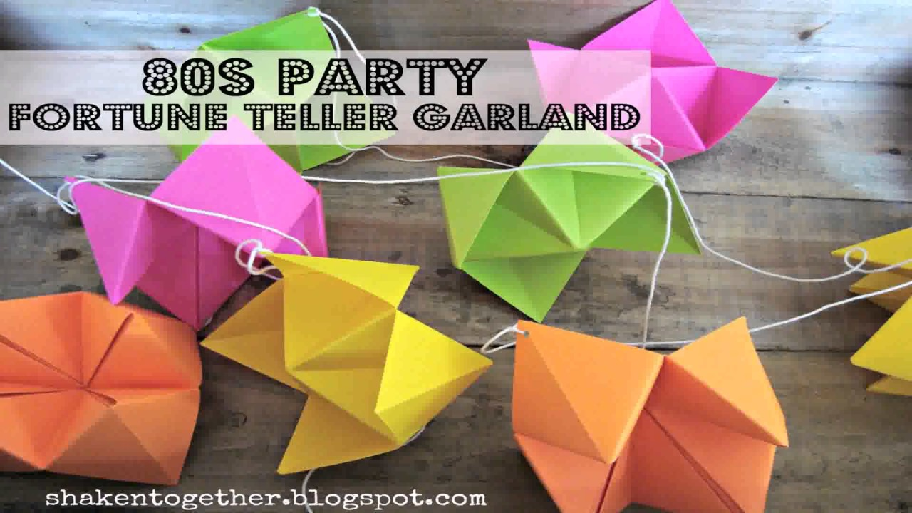 Best Diy 80S Decorations Youtube This Month