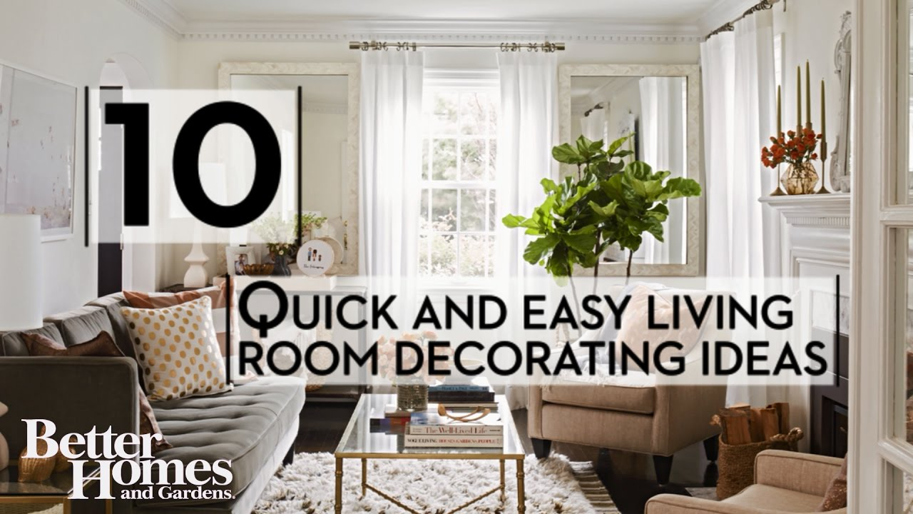 Best Quick And Easy Living Room Decorating Ideas Youtube This Month