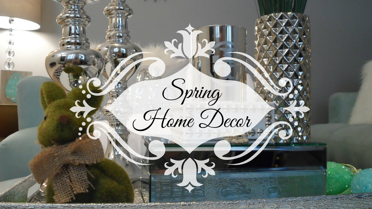 Best Spring Home Decor Youtube This Month