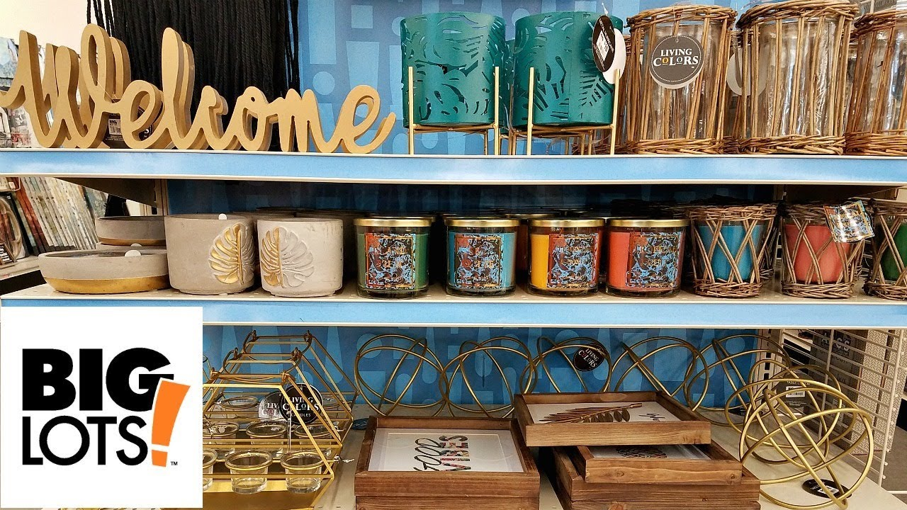 Best Shop With Me Big Lots New Summer Home Decor Beauty Finds This Month